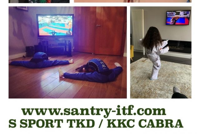 Live TKD classes for you to do at home Instructor Darren Doherty